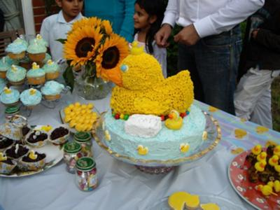 zakaria's 1st birthday cake