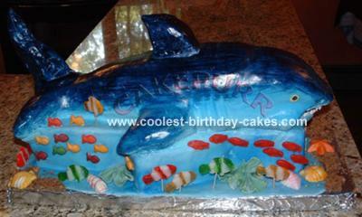 Great White Shark Cake