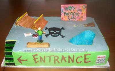 Skatepark Cake