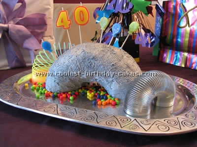 Slinky Cake