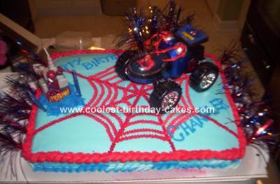 Chandler's Spiderman Cake