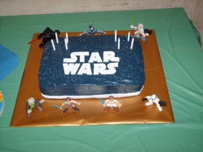 Cool Homemade Star Wars Cake