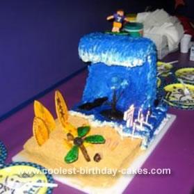 Surfing Cake