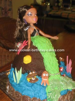 Bratz Mermaid Cake