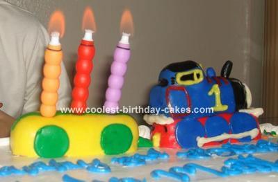 Awe Inspiring Thomas The Train Cake Birthday Cards Printable Benkemecafe Filternl