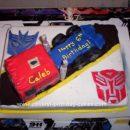 Homemade Transformers Optimus Prime Coolest Cake