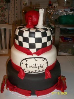 Superb Twilight Birthday Cake Funny Birthday Cards Online Overcheapnameinfo