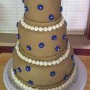 Very Simple Wedding Cake