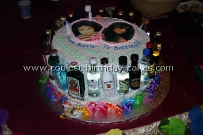 Astonishing Coolest Homemade 21St Birthday Theme Cakes Funny Birthday Cards Online Alyptdamsfinfo
