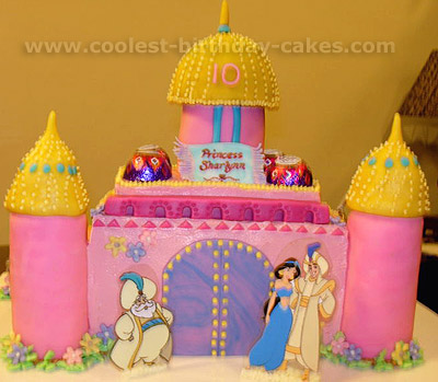 Coolest Homemade Aladdin And Jasmine Cakes