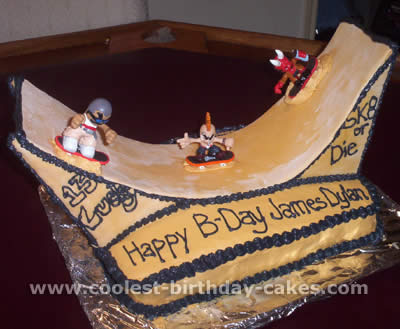Superb Amazing Cake Ideas For A Skateboarding Theme Funny Birthday Cards Online Elaedamsfinfo