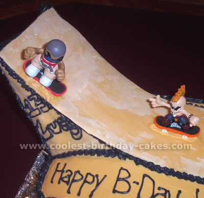 Fantastic Amazing Cake Ideas For A Skateboarding Theme Funny Birthday Cards Online Elaedamsfinfo