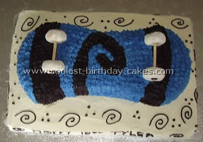 Surprising Amazing Cake Ideas For A Skateboarding Theme Funny Birthday Cards Online Elaedamsfinfo