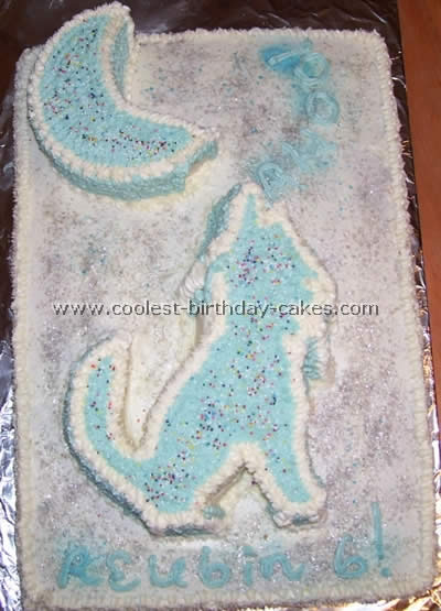 Coolest Wolf and Other Animal Birthday Cake Ideas