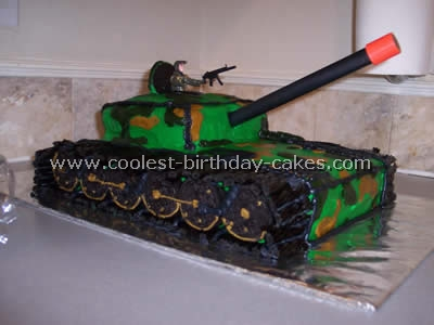 Peachy Coolest Army Cake Ideas And Decorating Techniques Funny Birthday Cards Online Aeocydamsfinfo