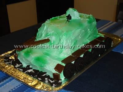 Tremendous Coolest Army Cake Ideas And Decorating Techniques Funny Birthday Cards Online Aeocydamsfinfo