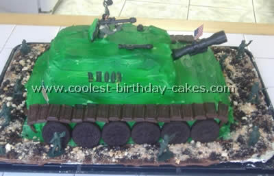 Cool Coolest Army Cake Ideas And Decorating Techniques Personalised Birthday Cards Rectzonderlifede