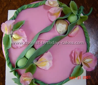 Tremendous Coolest Homemade Sweet Pea Cakes Personalised Birthday Cards Epsylily Jamesorg