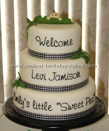 Coolest Baby Birthday Cake Photos - Web's Largest Homemade Birthday Cake Photo Gallery