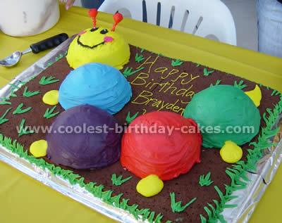 Baby Einstein Caterpillar Cake Photo