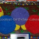 Coolest Baby Einstein Caterpillar Cakes