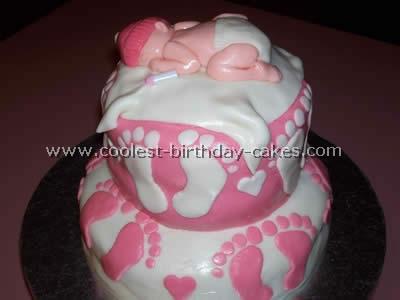 Baby Shower Cake Photo