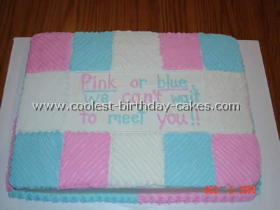 Coolest Baby Shower Cake Photos - Web's Largest Homemade Birthday Cake Photo Gallery