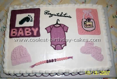 Coolest Baby Shower Cake Ideas And Baby Shower Sheet Cakes