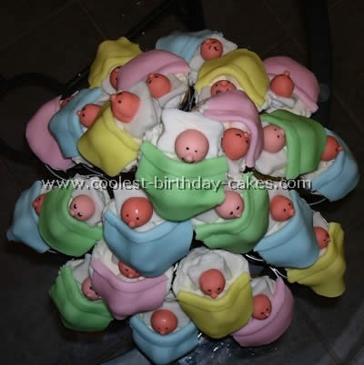 Coolest Baby Shower Cupcakes Webs Largest Homemade Birthday Cake