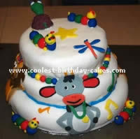 Baby Einstein Birthday Cake Photo