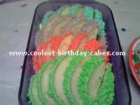 Baby Einstein Caterpillar Cakes