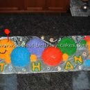Coolest Baby Einstein Caterpillar Cake Photos and How-to Tips