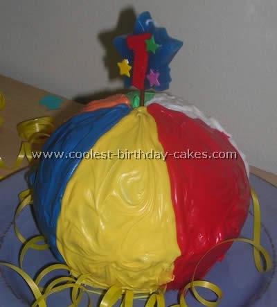 Strange Coolest Ball Cake Ideas And Photos Birthday Cards Printable Benkemecafe Filternl