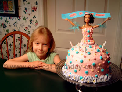 Coolest Barbie Cake Ideas For Homemade Birthday Cakes