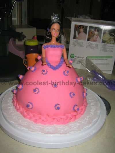 Magnificent 12 Coolest Doll And Barbie Cake Ideas Funny Birthday Cards Online Hendilapandamsfinfo