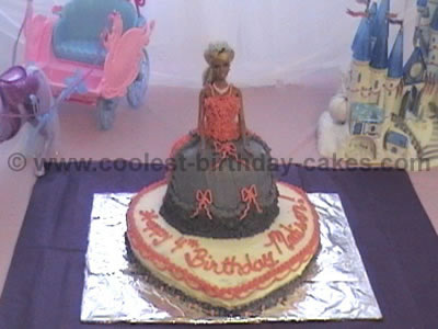 Coolest Barbie Cakes on the Web's Largest Birthday Cake Photo Gallery