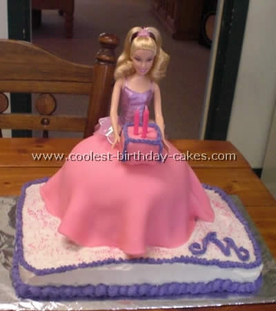 Coolest Barbie Doll Birthday Cake Photos