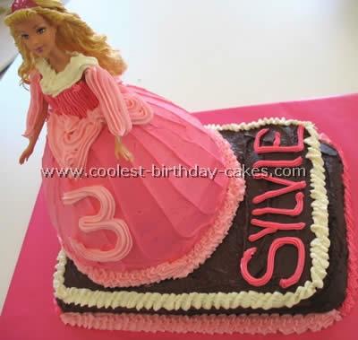 Barbie Skirt Cake