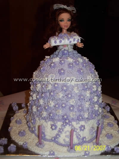 Birthday Cake Designs For 70 Year Olds 70th Source Coolest Barbie Skirt Photos And Tips