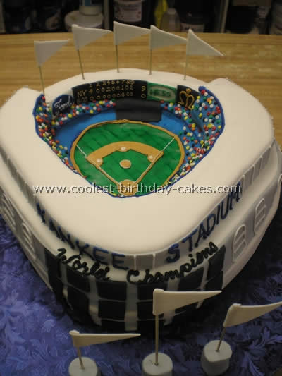 Magnificent Coolest Homemade Baseball Birthday Cakes Funny Birthday Cards Online Fluifree Goldxyz