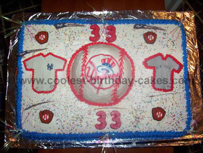 Coolest Baseball Cake Photos and Decorating Tips