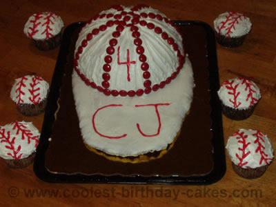 Baseball Cake Picture