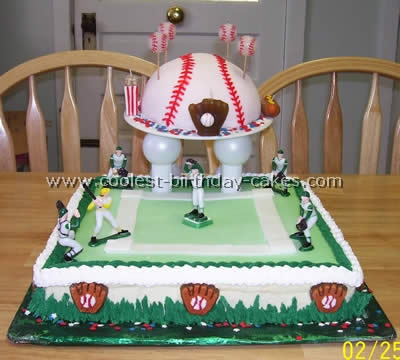 Miraculous Coolest Baseball Cake Ideas Photos And How To Tips Personalised Birthday Cards Epsylily Jamesorg