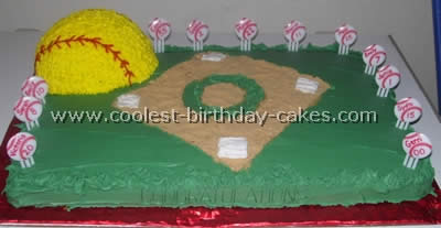 Magnificent Coolest Baseball Cake Ideas Photos And How To Tips Personalised Birthday Cards Paralily Jamesorg