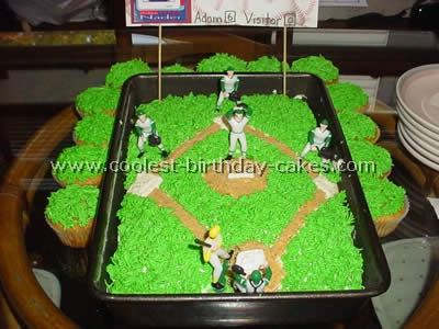 Marvelous Coolest Baseball Cake Ideas Photos And How To Tips Personalised Birthday Cards Paralily Jamesorg