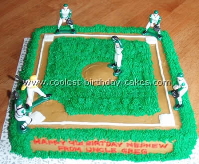 Fabulous Coolest Baseball Cake Ideas Photos And How To Tips Personalised Birthday Cards Epsylily Jamesorg