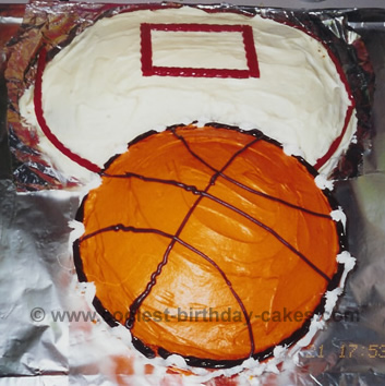 Stupendous Coolest Basketball Cake Designs And Decorating Tips Funny Birthday Cards Online Unhofree Goldxyz