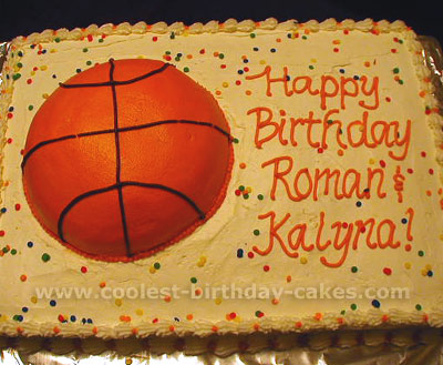 Surprising Coolest Basketball Cake Designs And Decorating Tips Funny Birthday Cards Online Unhofree Goldxyz