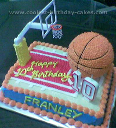 Fine Coolest Basketball Cake Designs And Decorating Tips Funny Birthday Cards Online Unhofree Goldxyz