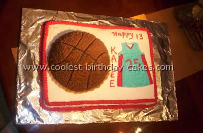 Peachy Coolest Basketball Cake Designs And Decorating Tips Funny Birthday Cards Online Unhofree Goldxyz
